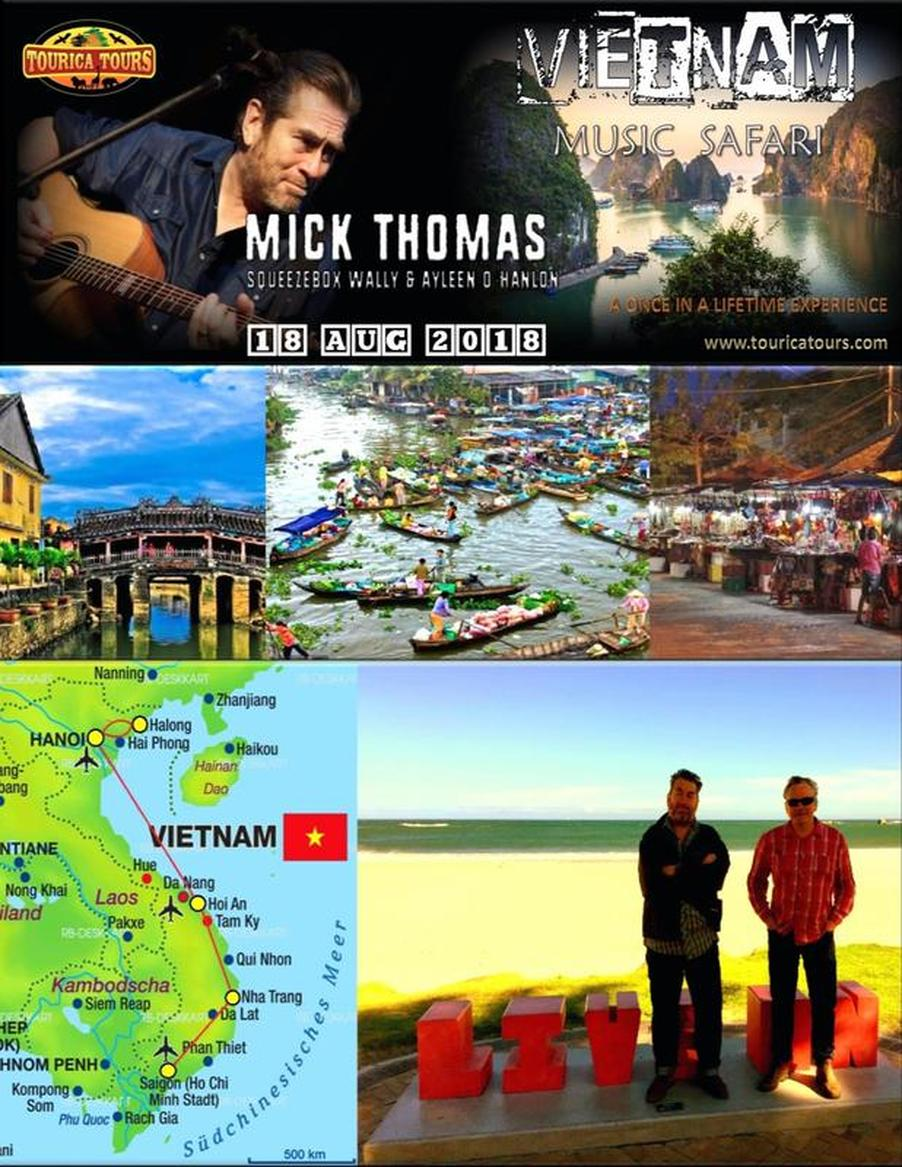 Mick Thomas in Vietnam